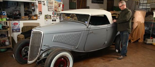 Auto Upholstery - The Hog Ring - 1933 Ford Roadster