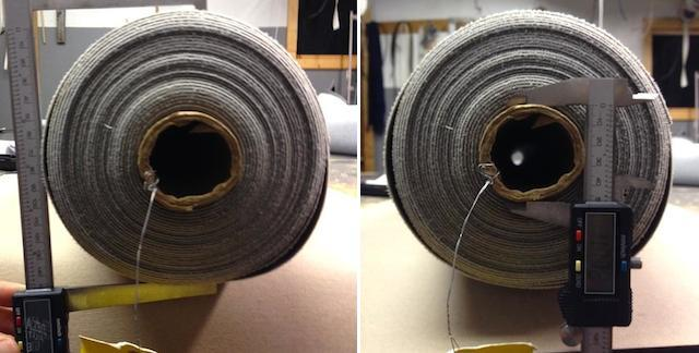 Auto Upholstery - The Hog Ring - Fabric Roll Calculator
