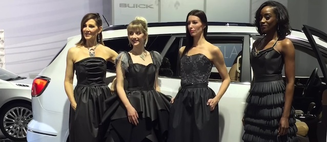 Detroit Auto Show Turns Fashion Show