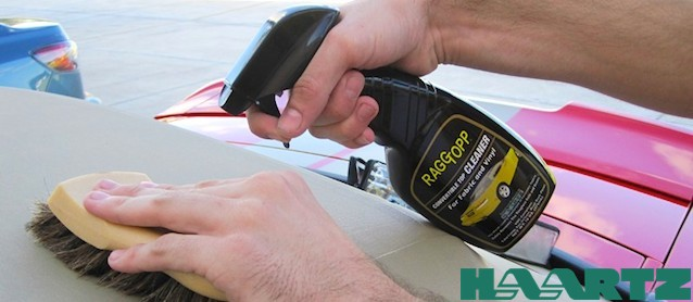 Auto Upholstery - The Hog Ring - RaggTopp Cleaner