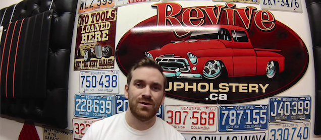 Auto Upholstery - The Hog Ring - Revive Upholstery
