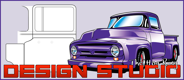 Design Studio: 1956 Ford F100 Door Panel
