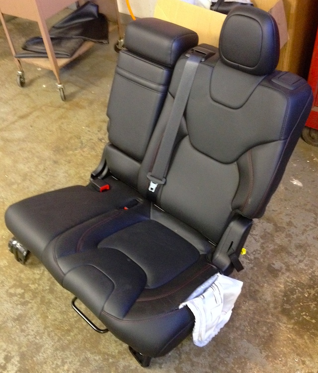 Auto Upholstery - The Hog Ring - Seat Airbag