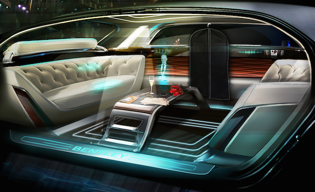 Auto Upholstery - The Hog Ring - Bentley Motors Self-Driving Car
