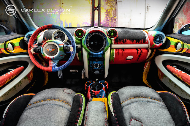 Auto Upholstery - The Hog Ring - Carlex Design - Mini Paceman Painter Works