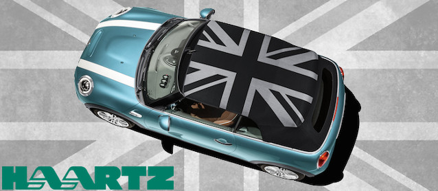 Auto Upholstery - Haartz Corporation - Mini Union Jack