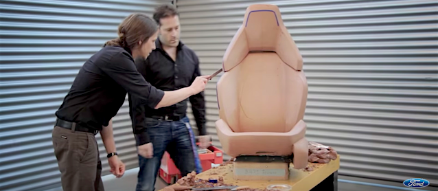 Auto Upholstery - The Hog Ring - Ford Motor Company Clay Sculpture
