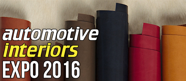Attend Automotive Interiors Expo 2016