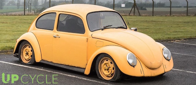 Turning a VW Beetle into Furniture