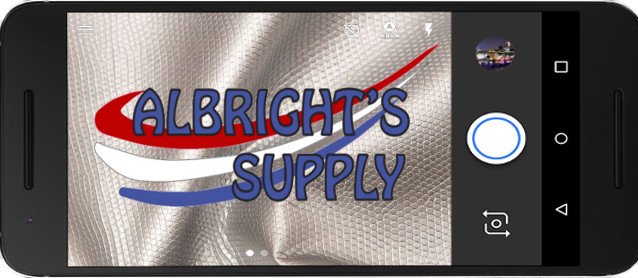 Auto Upholstery - The Hog Ring - Albrights Supply Text