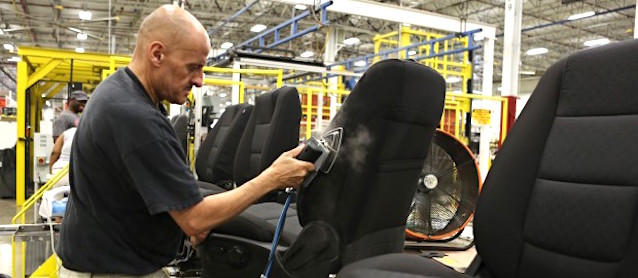 Auto Upholstery - The Hog Ring - Lear Corporation
