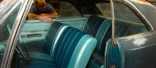Auto Upholstery - The Hog Ring - 1966 Chevrolet Chevelle Malibu