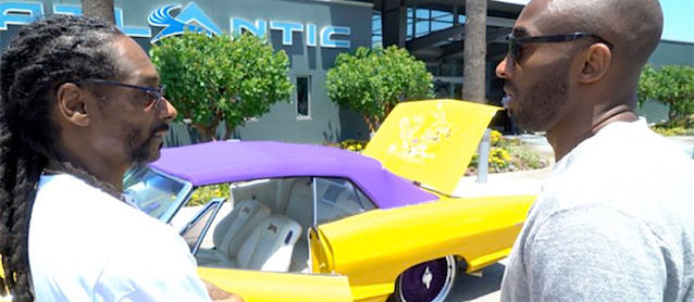Auto Upholstery - The Hog Ring - LA Lakers Lowrider