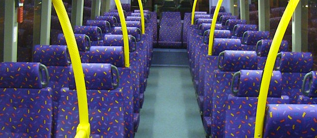 Why is Bus and Train Upholstery So Ugly?