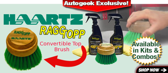 Auto Upholstery - The Hog Ring - Convertible Top Brush
