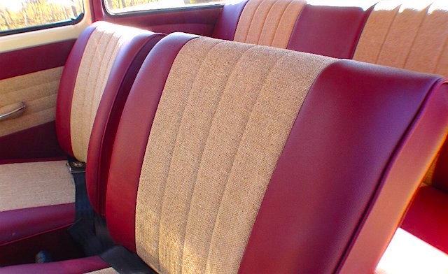 Auto Upholstery - The Hog Ring - Tweed Upholstery