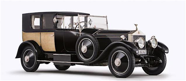Auto Upholstery - The Hog Ring - 1926 Rolls-Royce Phantom of Love