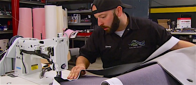 Auto Upholstery - The Hog Ring - Seams Ridiculous Upholstery