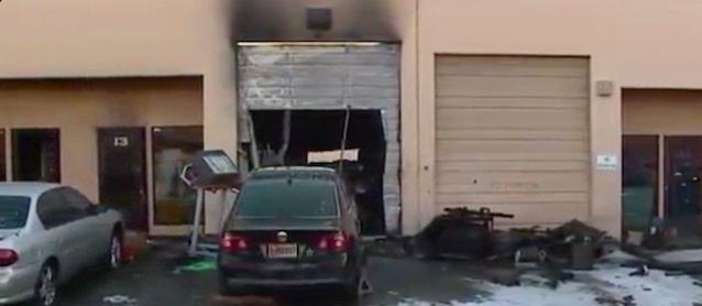 The Hog Ring - Las Vegas Trim Shop Destroyed in Fire