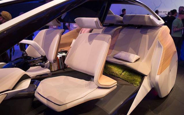 The Hog Ring - Photo BMW's Living Moss Sound Insulation