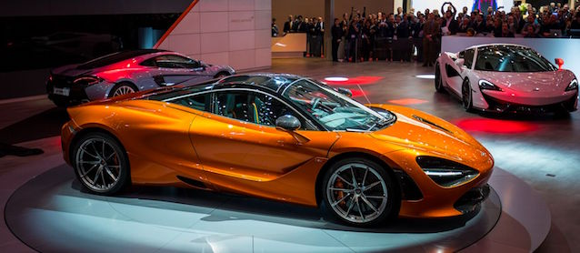 Check out the McLaren 720S' Trick Dash