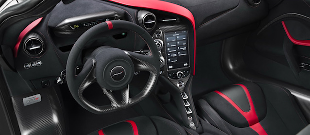 The Hog Ring - Check out the McLaren 720S Trick Dashboard