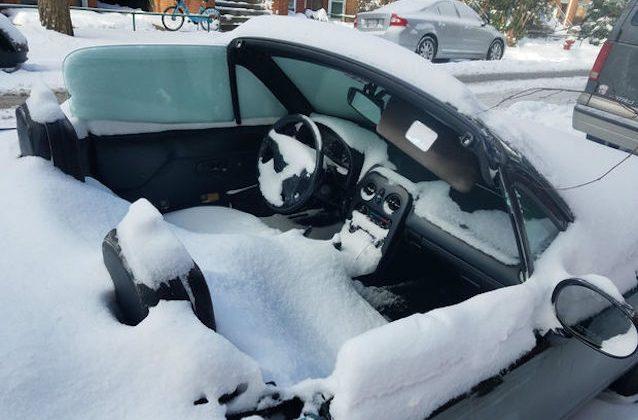 Frozen: Mazda Miata vs Chicago Snowstorm