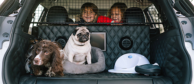 Nissan's X-Trail is the Ultimate Car for Dogs
