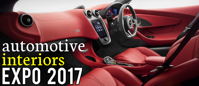 Attend Automotive Interiors Expo 2017