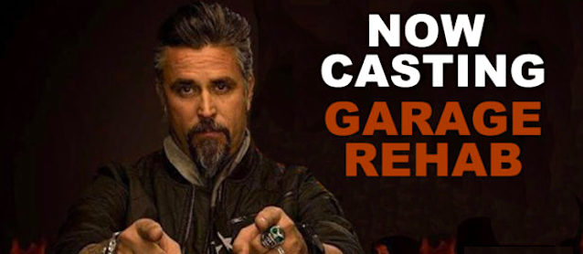 Discovery Wants You for 'Garage Rehab'