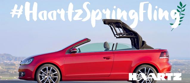 Enter the Haartz Spring Fling Giveaway!
