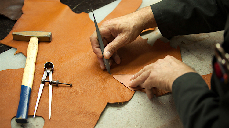 The Hog Ring - How to Figure Out How Much Leather You Need 1