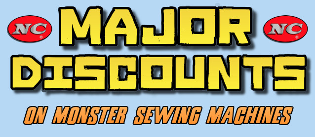 The Hog Ring - Major Discounts on Monster Sewing Machines