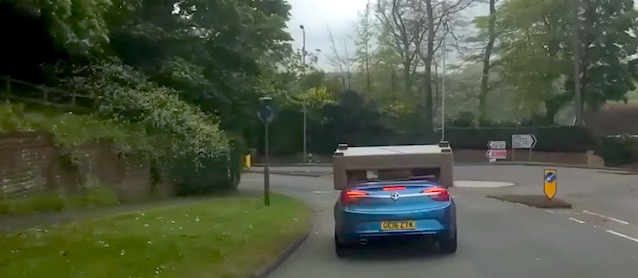 Worst Use of a Convertible Car — Ever!