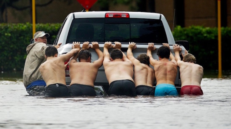 The Hog Ring - Houston Floods Help Auto Shops Recover