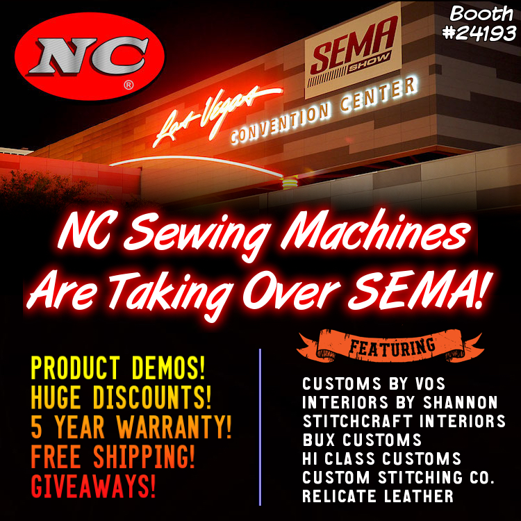 The Hog Ring - NC Sewing Machines Are Taking Over SEMA