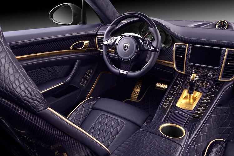 The Hog Ring - This Porsche Interior is Absolutely Stunning