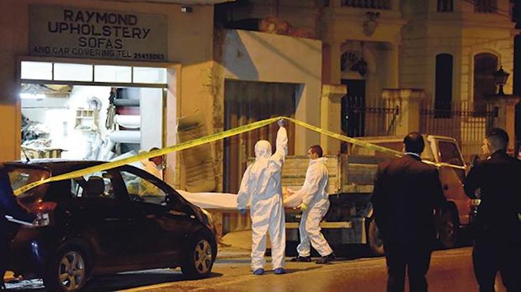 The Hog Ring - Gunman Targets Malta Upholstery Shop