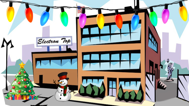 Merry Christmas From Electron Top!