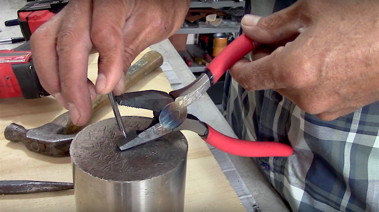 The Hog Ring - How to Make Your Own Hog Ring Pliers