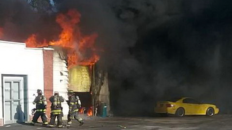 Maryland Trim Shop Destroyed in Fire