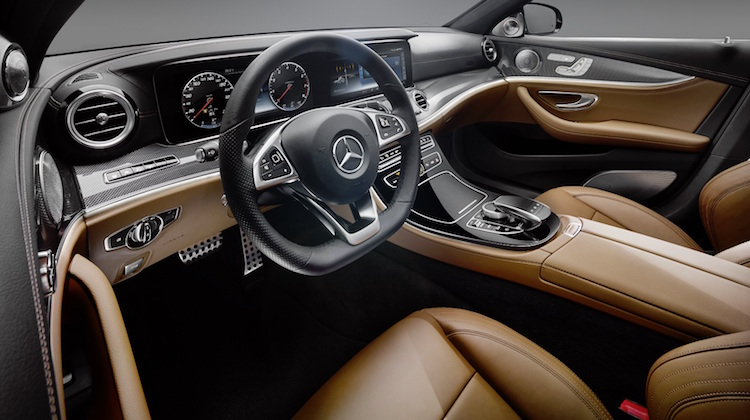 The Hog Ring - Mercedes E-Class Knocked for Faux Leather