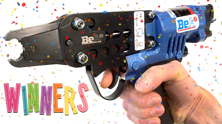 Stitchwurx Wins Our BeA Hog Ring Gun!