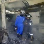 Auto Seat Cover Factory Destroyed in Fire