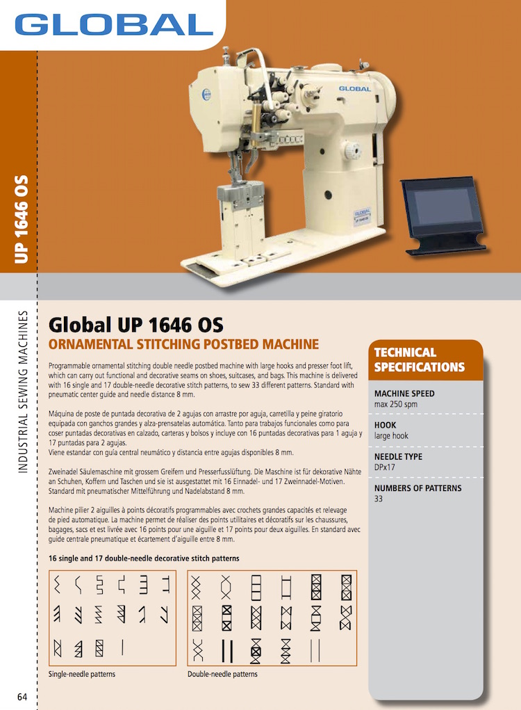 The Hog Ring - NC Ornamental Stitch Sewing Machine