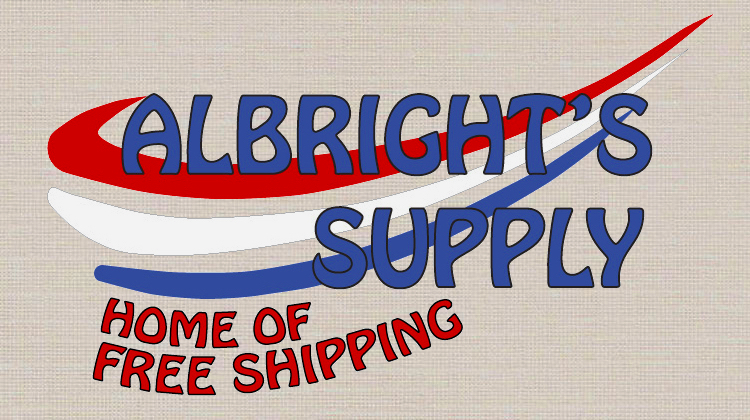 The Hog Ring - Albrights Supply Logo