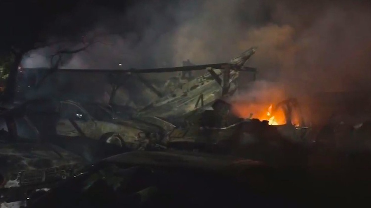 Deadly Fire Erupts at Sacramento Trim Shop