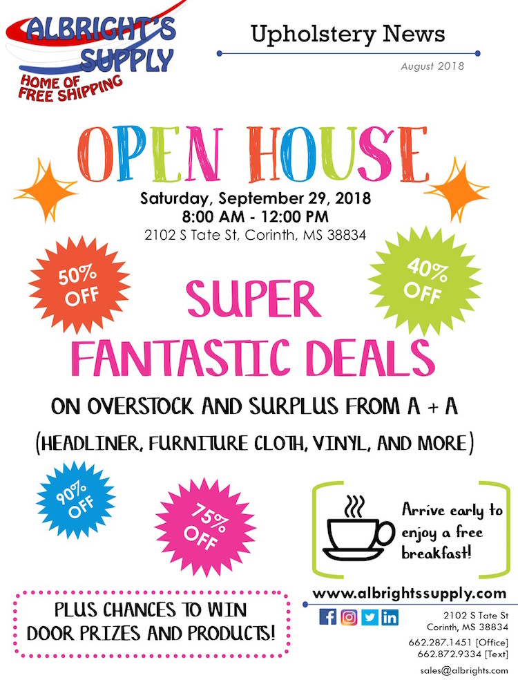 The Hog Ring - Albright's Supply is Having an Open House