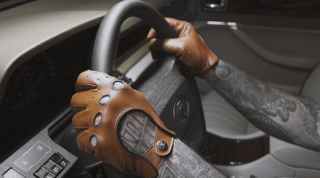 Vilner's Custom Driving Gloves are Bad Ass