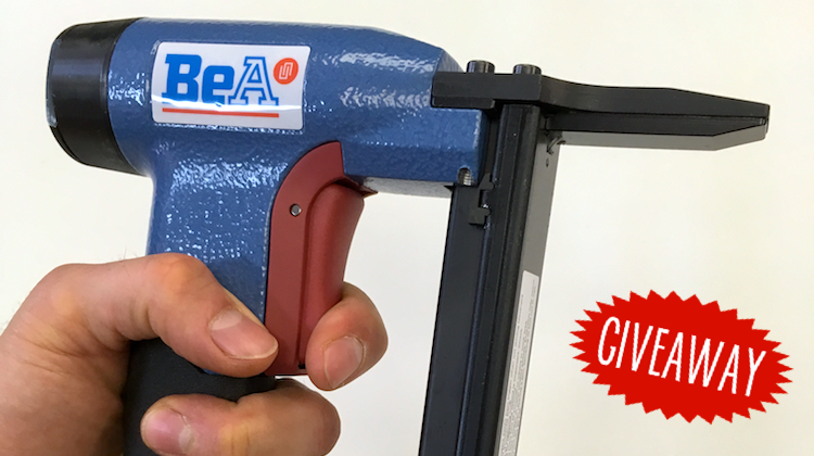 The Hog Ring - Review - BeA Pneumatic Staple Gun 1